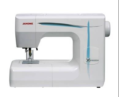 JANOME XPRESSION Felting machine