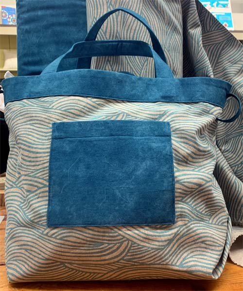 Using one of the canvas fabrics in our shop