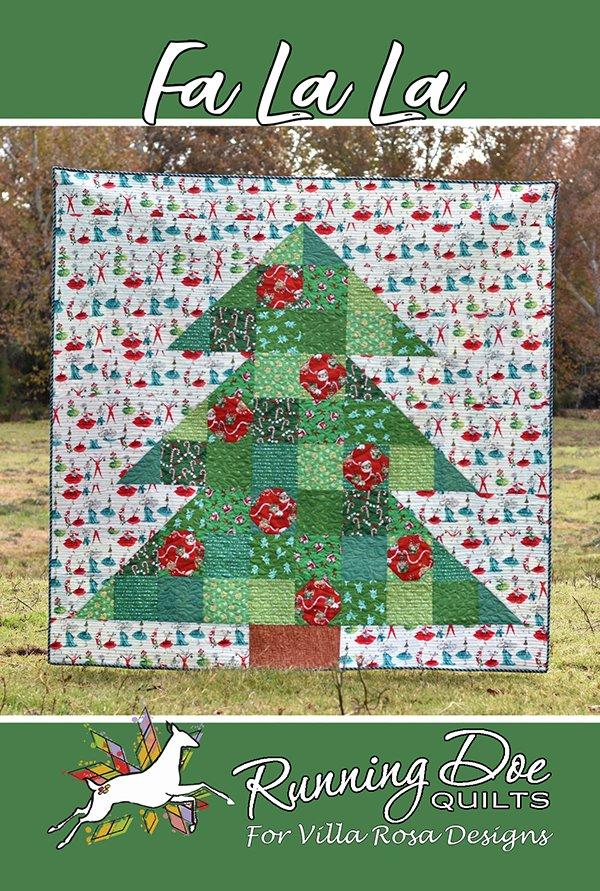 Fa La La Quilt Pattern by Villa Rosa Designs