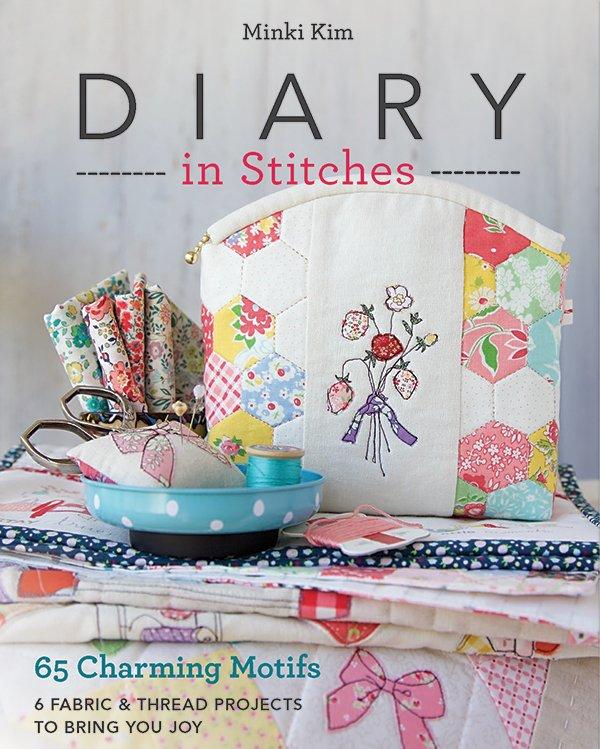 Diary in Stitches Book by Minki Kim