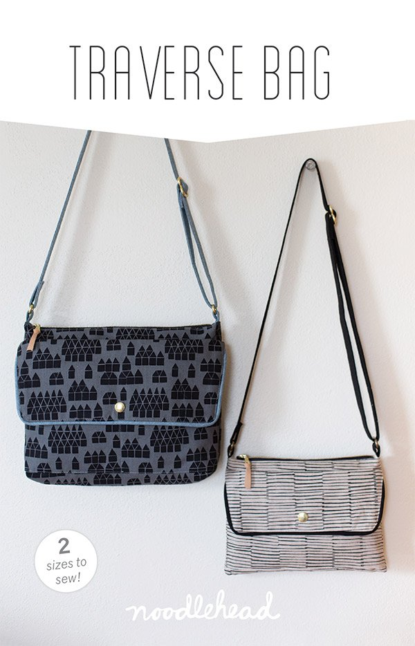 Traverse Bag Pattern - Noodlehead