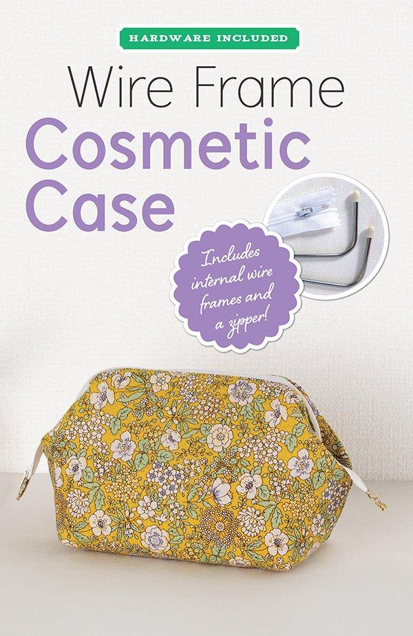 Wire Fram Cosmetic Case - Zakka Workshop
