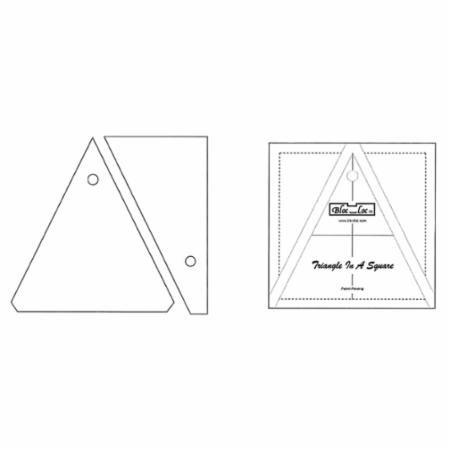 Bloc Loc Triangle in a Square 6x6