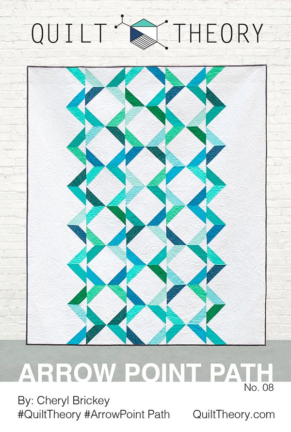 Arrow Point Path Pattern - Quilt Theory