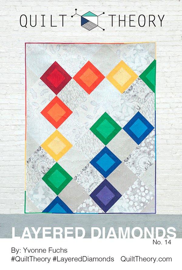 Layered Diamonds Pattern - Quilt Theory