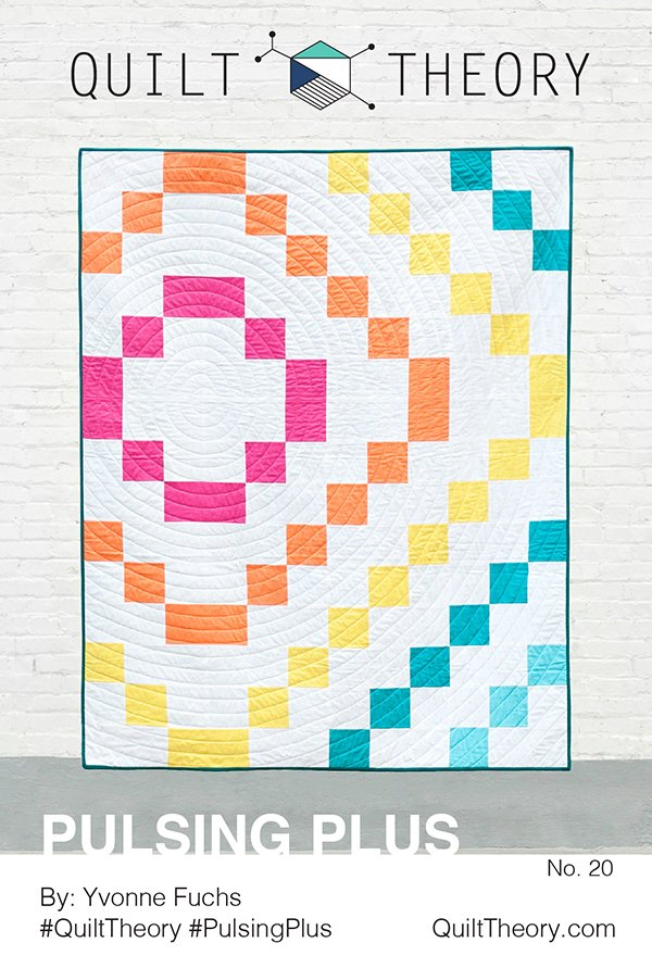 Pulsing Plus Pattern - Quilt Theory