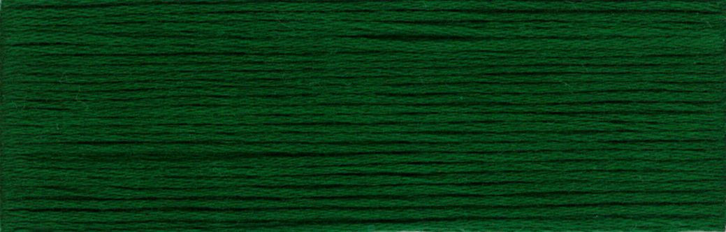 Dark Artichoke Green Embroidery Floss # 121 - 8.75 yd skein - Cosmo Embroidery Floss