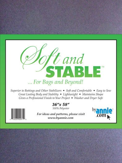 Soft & Stable Black - 1yd package