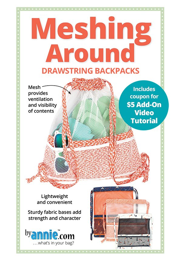 Messing Around: Drawstring Backpacks - By Annie.com