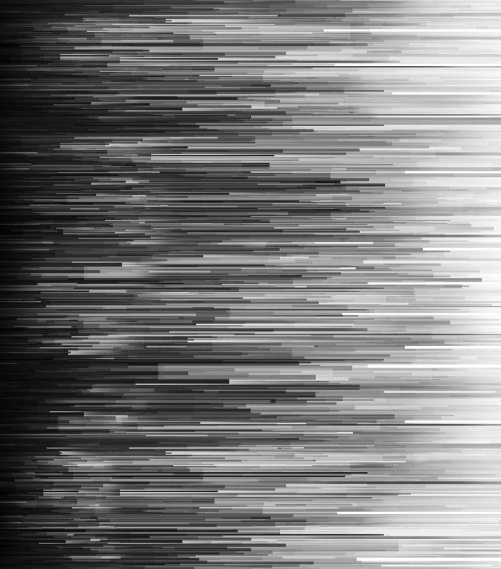 Fragmented Stripe in Onyx - Gradients II