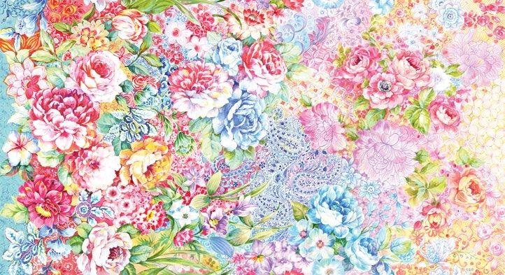 Garden Collage in Parfait - Gradients II
