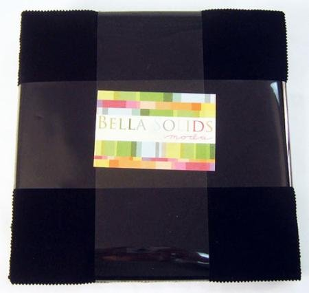 Bella Solids Layer Cake - Black
