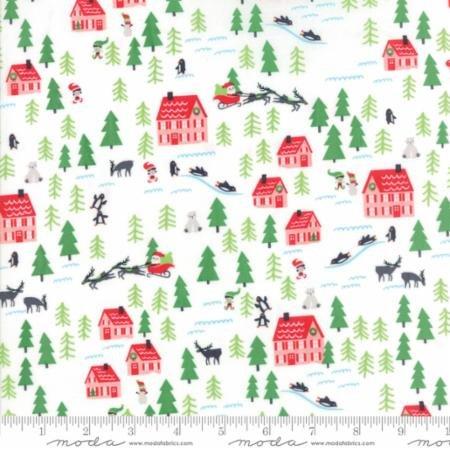 Santa's Village in Snow - The North Pole - Stacy Iset Hsu