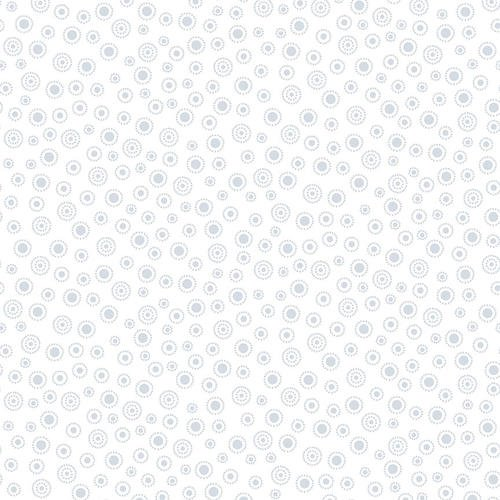 Large Dot: White on White - Quilters Flour