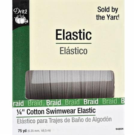 Cotton Swimwear Elastic _ Natural