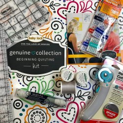 Baby Lock Genuine Collection Quilting Kit