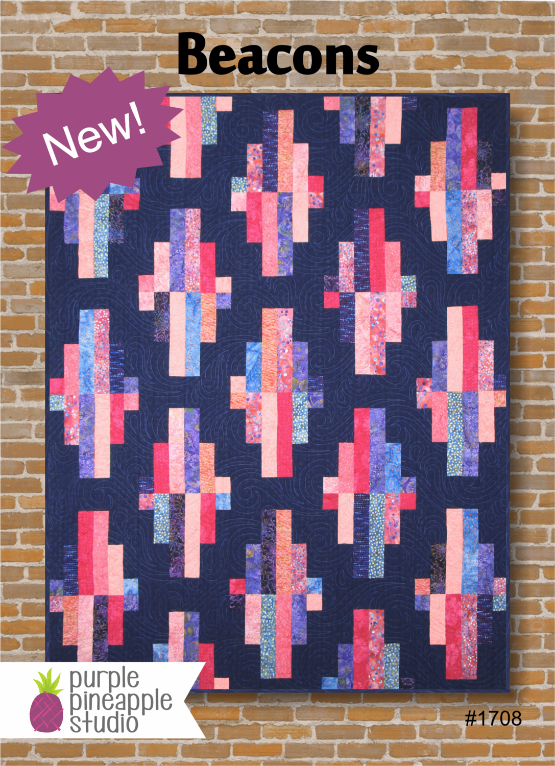 Beacons Quilt Pattern by Purple Pineapple Studio