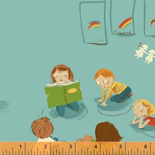 Kindergarten in Blue - Kinder - Heather Ross