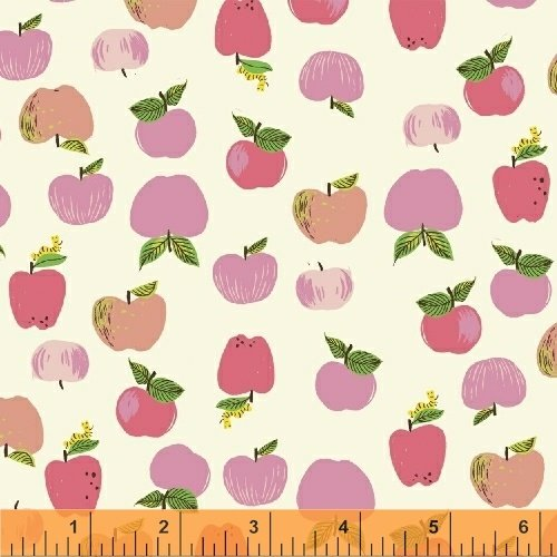 Apples in Pink - Kinder - Heather Ross