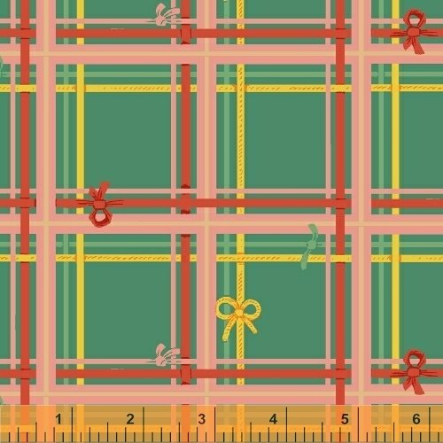 Plaid in Spruce - Sugar Plum - Heather Ross
