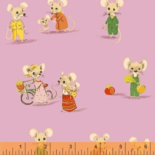 Country Mouse: Light Pink - Trixie - Heather Ross