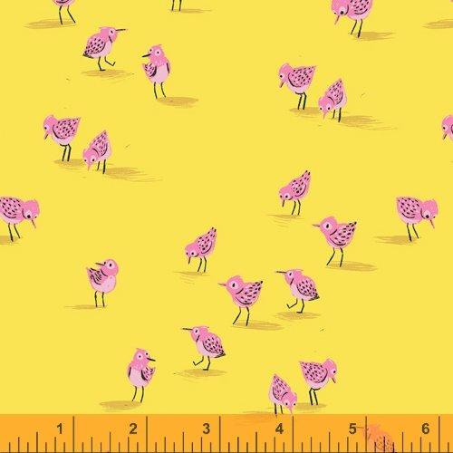 Piper in Yellow - Malibu - Heather Ross - Windham Fabrics