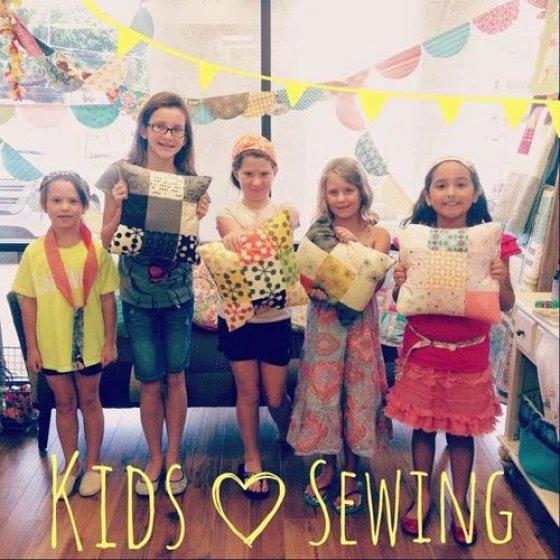Kids Spring Break Sewing Camp - Level 1