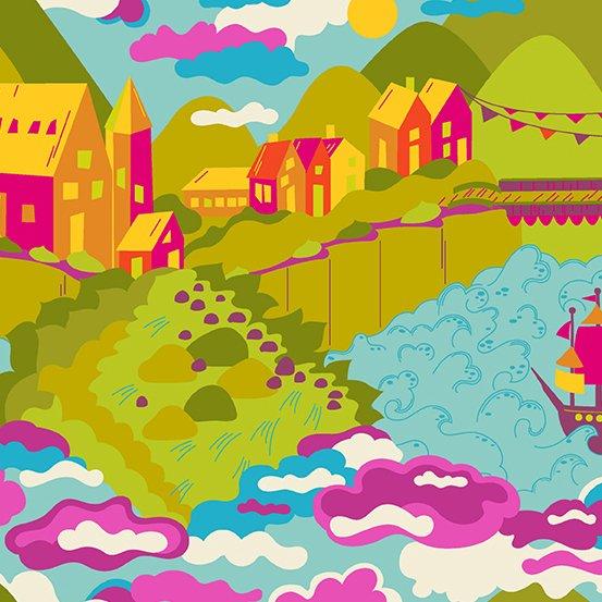 Lilliput Sunrise - Diving Board - Alison Glass