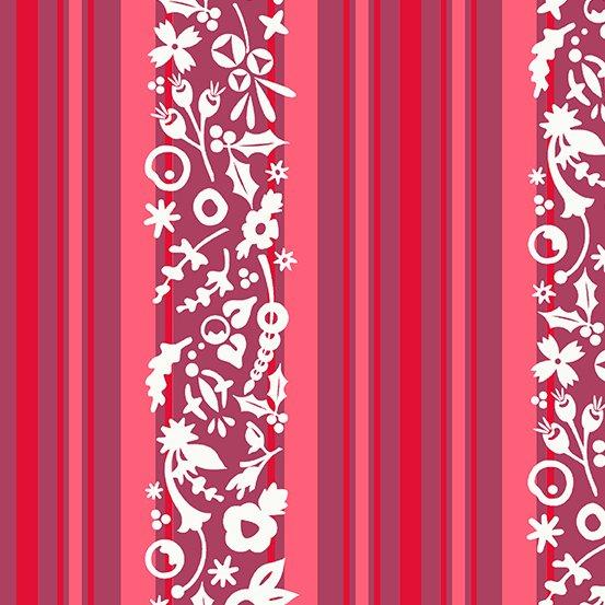 Stripe: Cinnamon - Holiday - Alison Glass