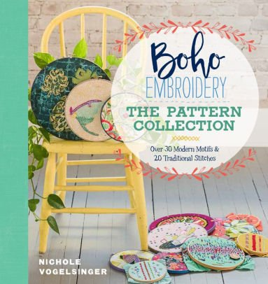 Boho Embroidery Book - The Pattern Collection