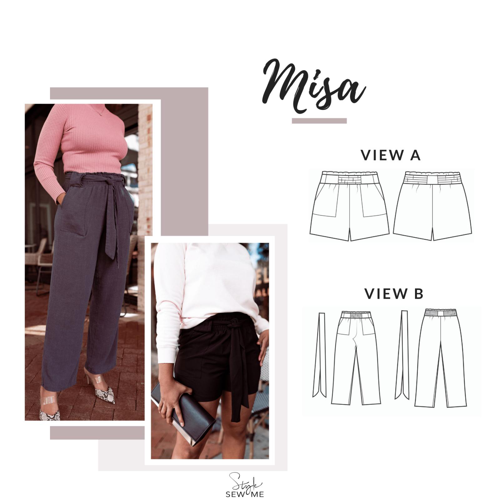 Misa Paper Bag Shorts Kit