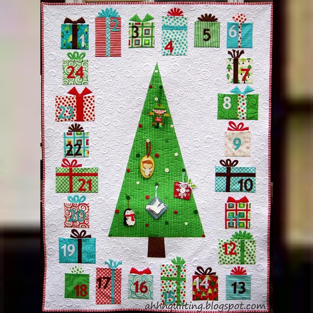 Advent Calendar Quilt