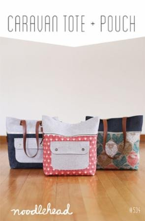 Caravan Tote and Pouch Pattern - Noodlehead