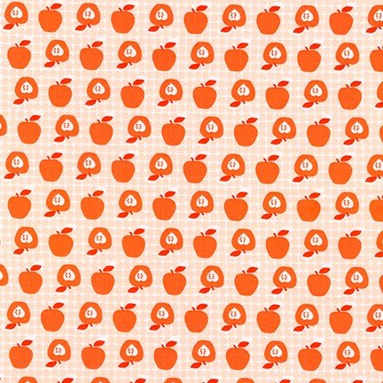 Apple in Coral - Betty's Luncheonette - Violet Craft