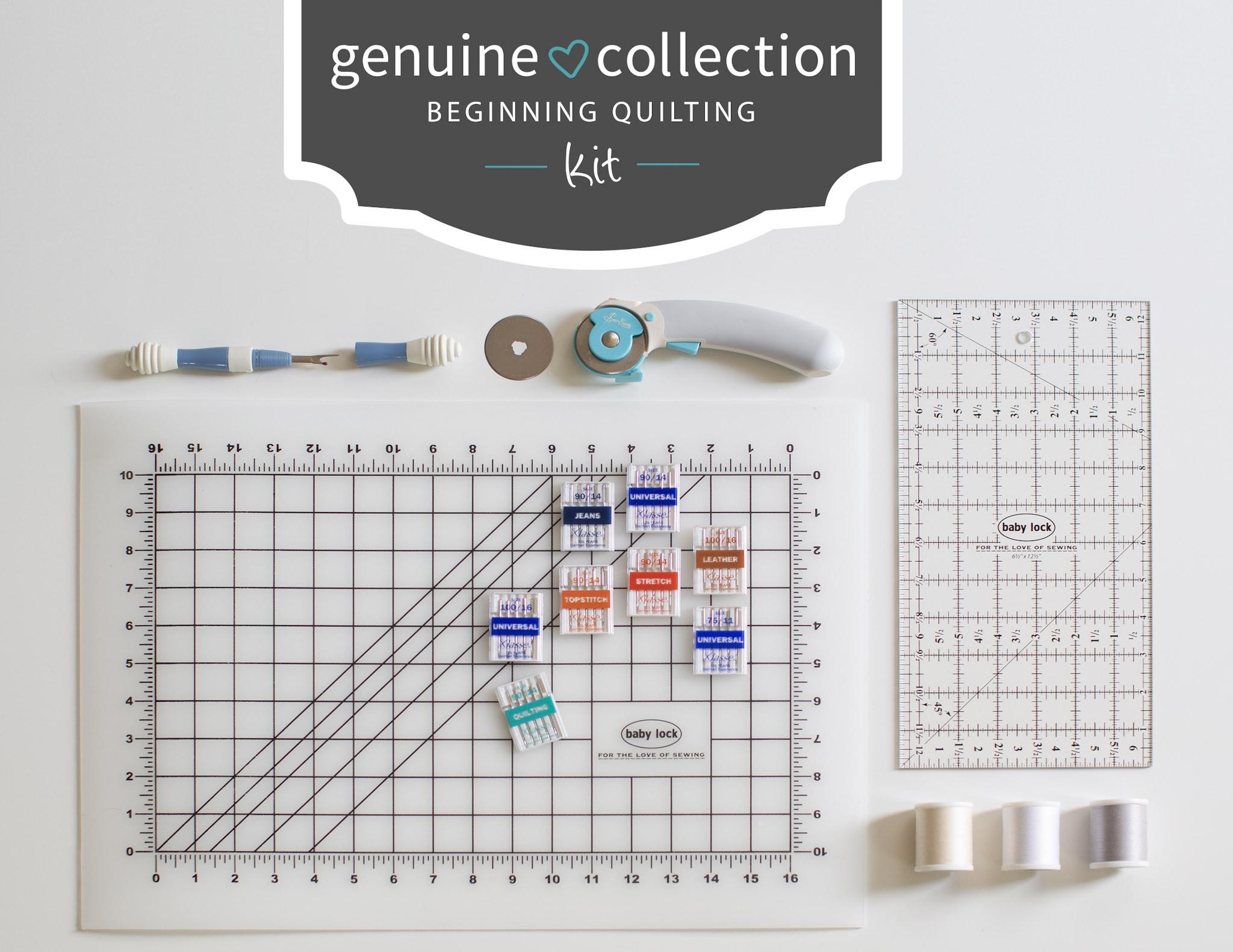 Genuine Collection Quilting Kit - BLGCQK - Baby Lock