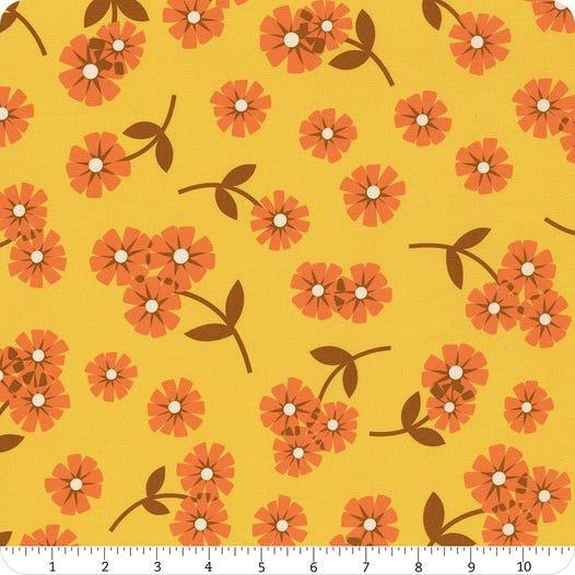 Daisy: Yellow - Butterscotch - Dana Willard