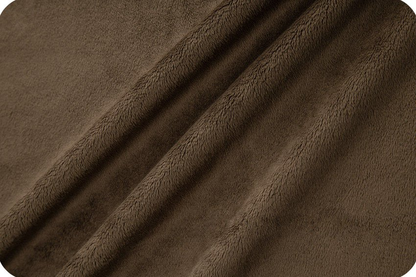 Cuddle: Brown - 60 Wide - Shannon Fabrics