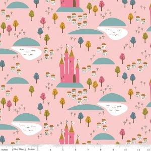 Castle in Pink - Guinevere - Citrus & Mint - Riley Blake