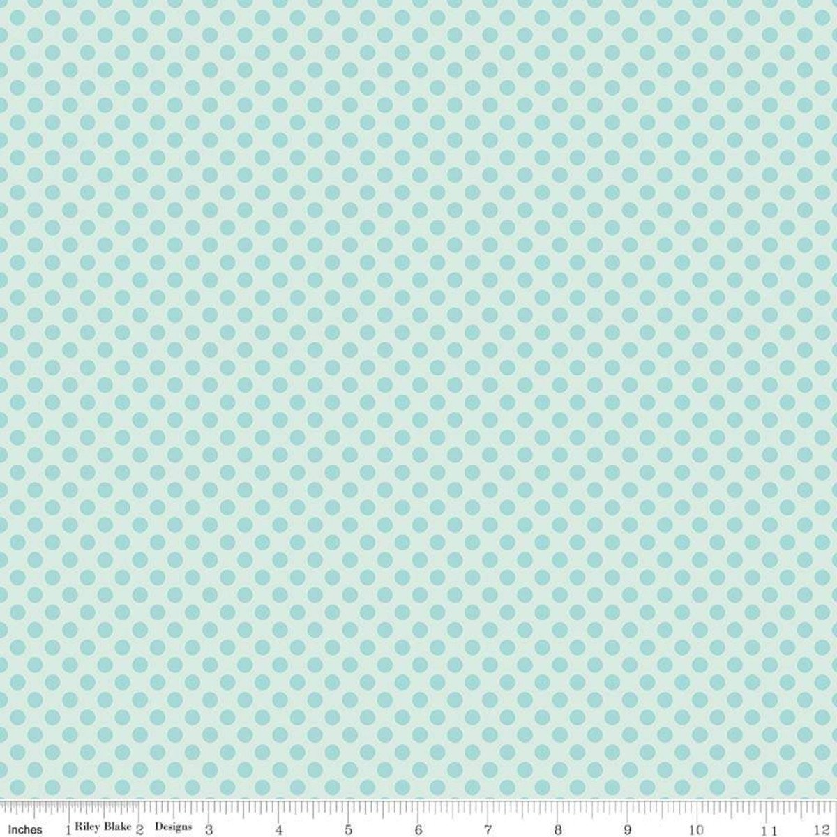 Dot Blue - Fairy Garden - Lori Whitlock
