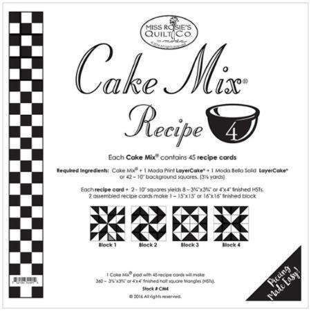Cake Mix Recipe 4 - Miss Rosie