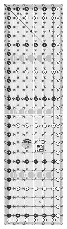 Creative Grids 6.5 x 24.5 Quilt Ruler