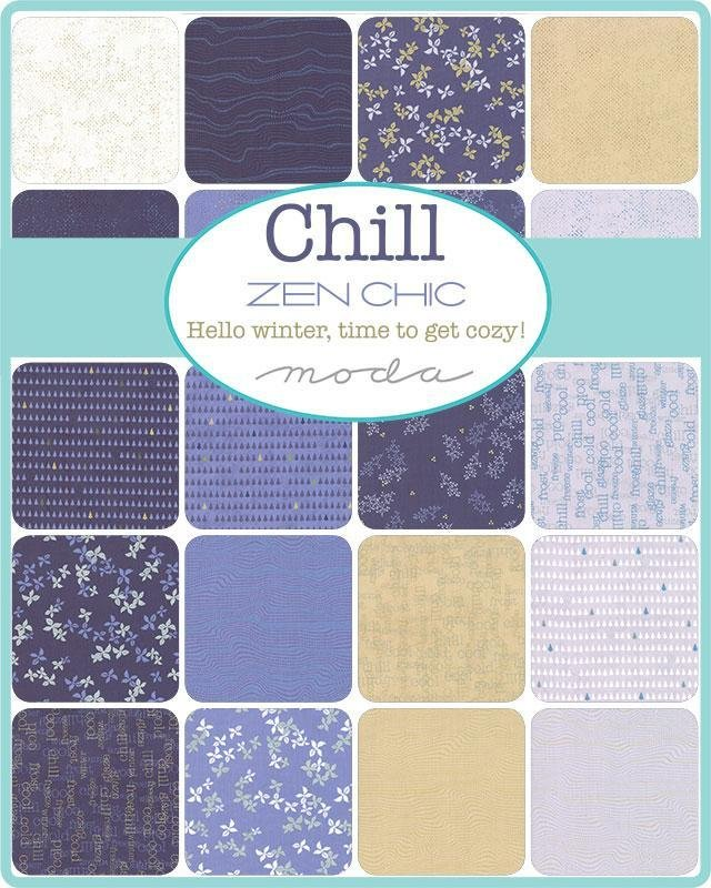 Chill Collection Layer Cake - Zen Chic - Moda Fabrics