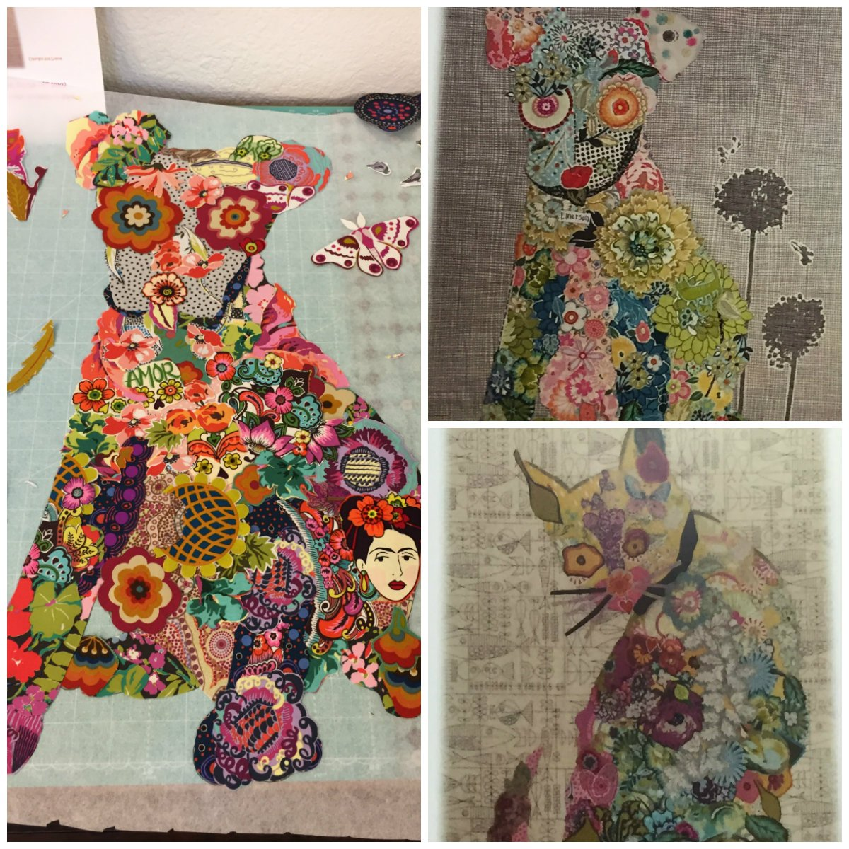 Intro to Fabric Collage Mini Quilt