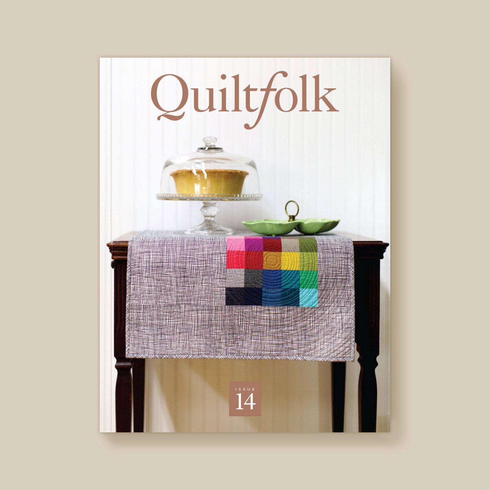 QuiltFolk Magazine - South Carolina - Volume 14