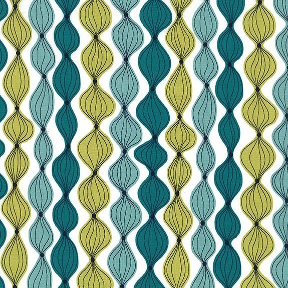 Shallot in Teal - On the Chopping Block - Michael Miller