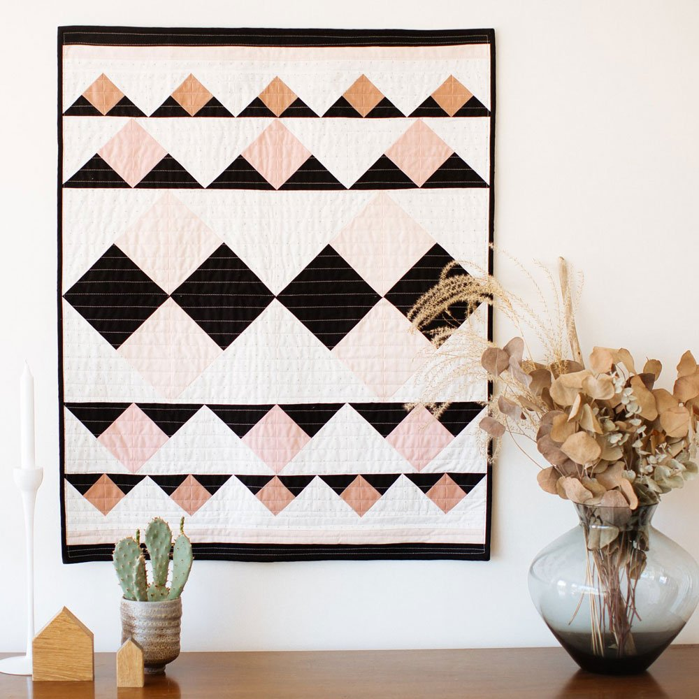 Double Mountain Quilt