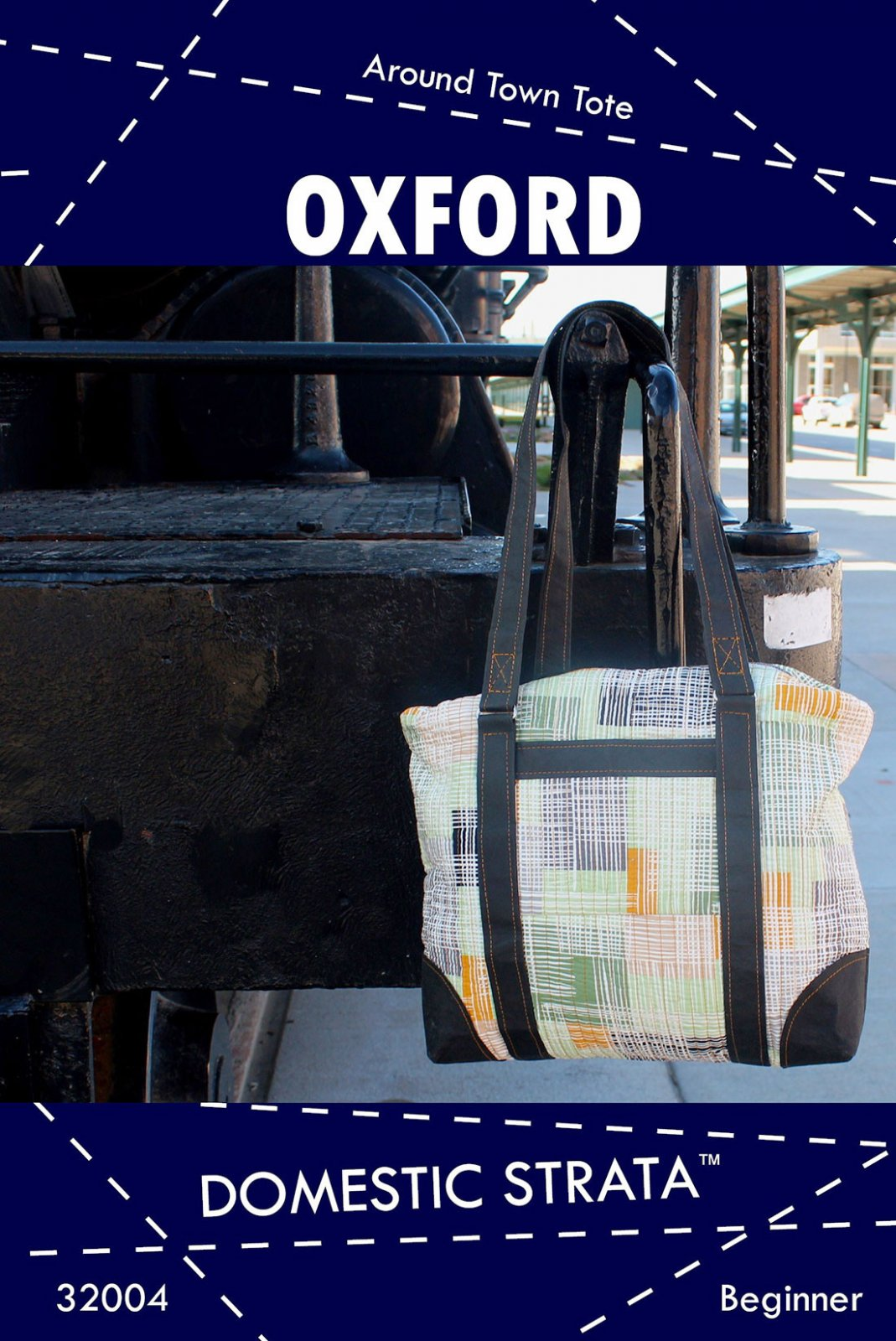 Oxford Tote Pattern by Domestic Strata