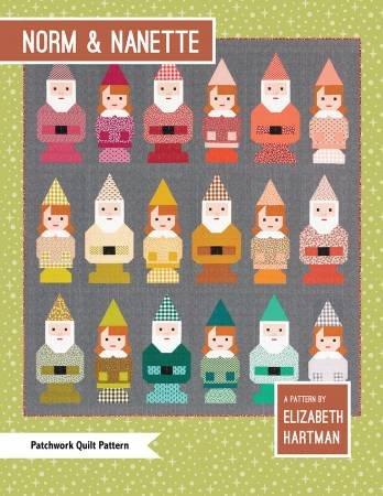 Norm & Nanette Quilt Pattern by Elizabeth Hartman