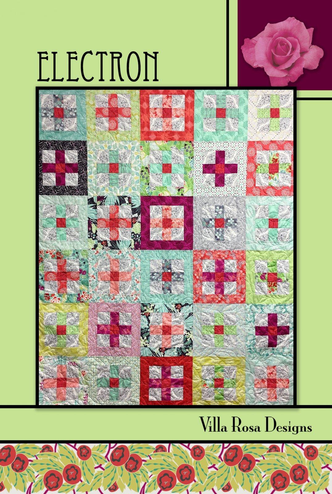 Electron Quilt Pattern by Villa Rosa Designs