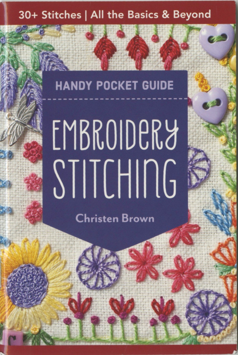 Embroidery Stitching- Handy Pocket Guide